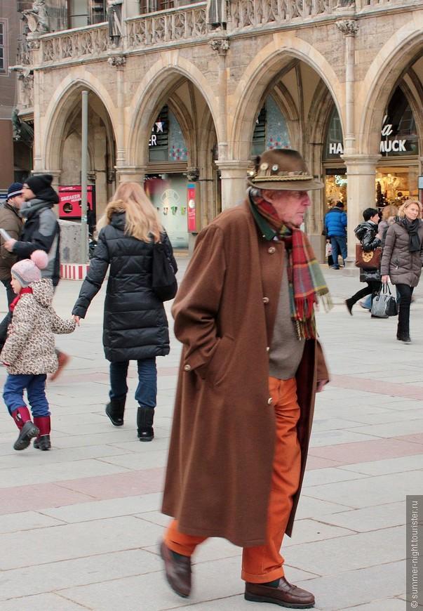Вот - самый модный парень Мюнхена! По-моему.