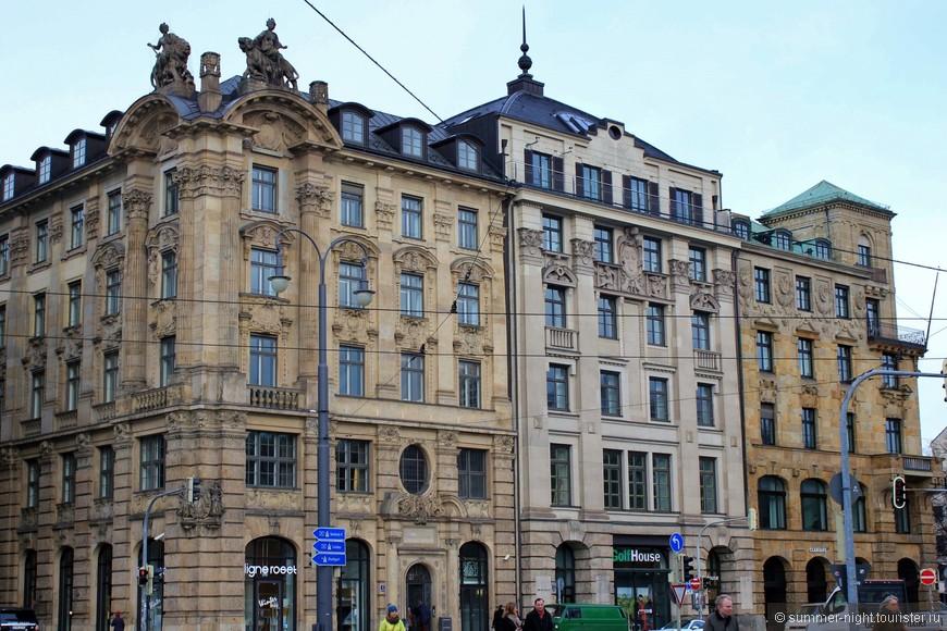 Архитектура Мюнхена помпезна!