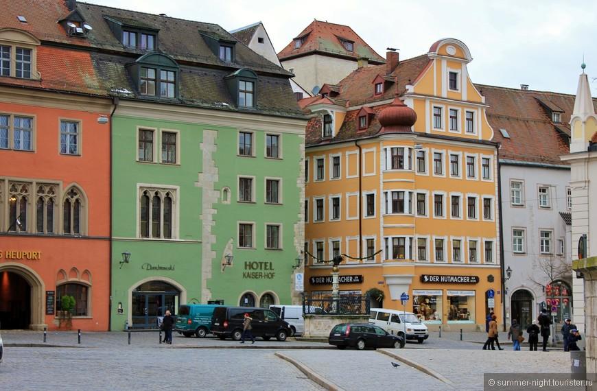 День №2. Регенсбург. Один из старейших городов Германии.