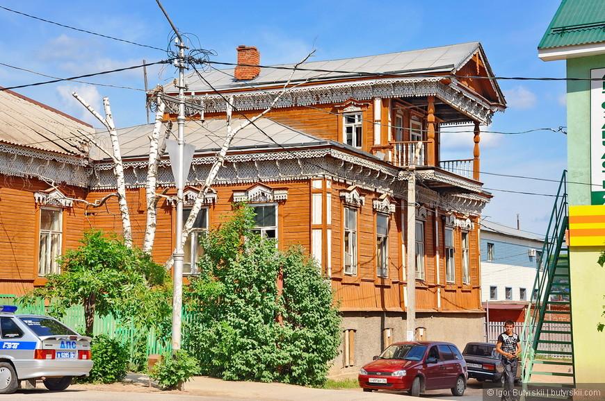 16. Многие старинные здания в центре в отличном состоянии, зачастую жилые.