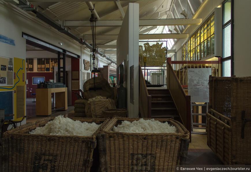 В производственный цех поступала непереработанная шерсть из Южной Америки и Австралии