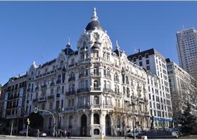 Мадрид от площади Испании до Пуэрта-дель-Соль