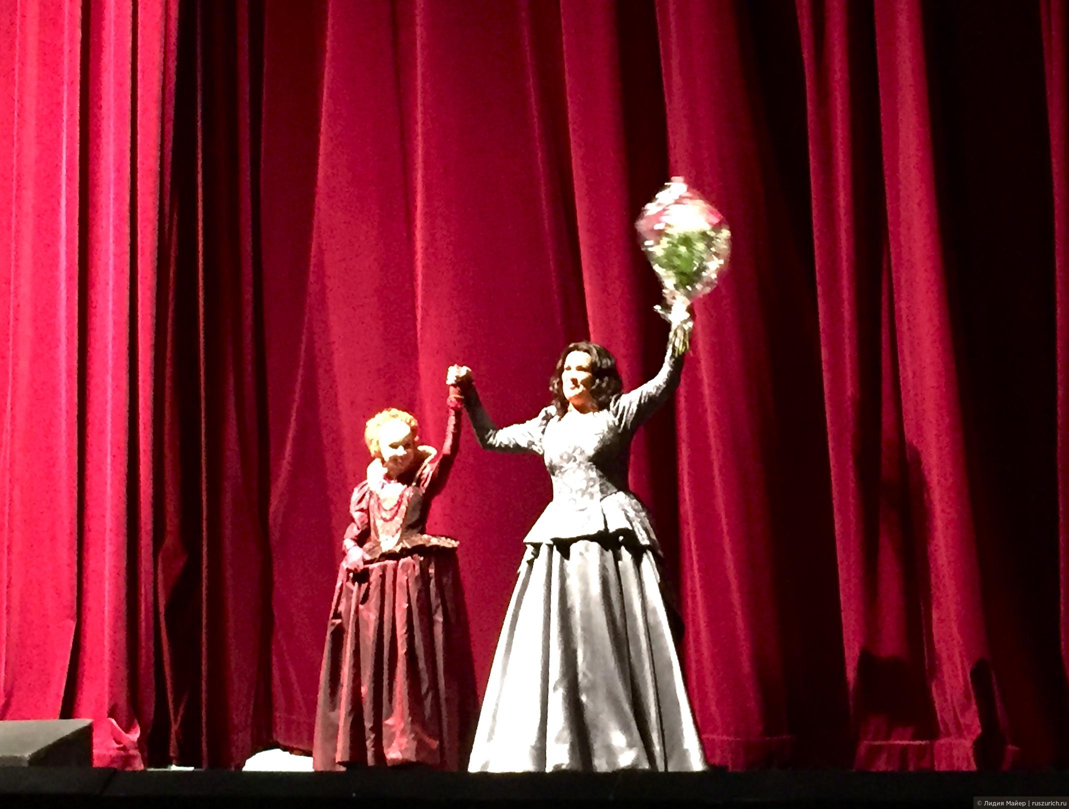 Анна Нетребко поёт в Цюрихе