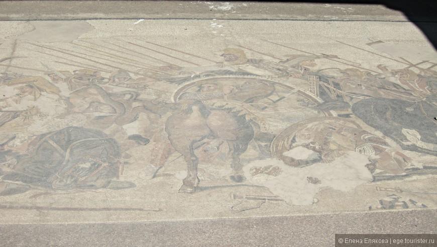 Во многих домах сохранились фрески