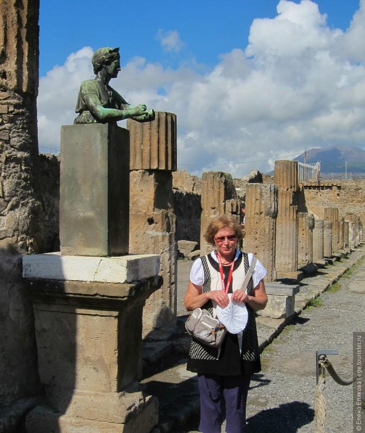 Копия бюста  Дианы (Артемиды) в храме Аполлона