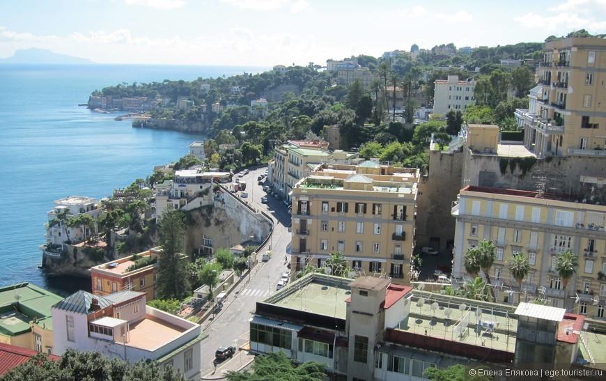 По дороге из Помпей в центр Неаполя