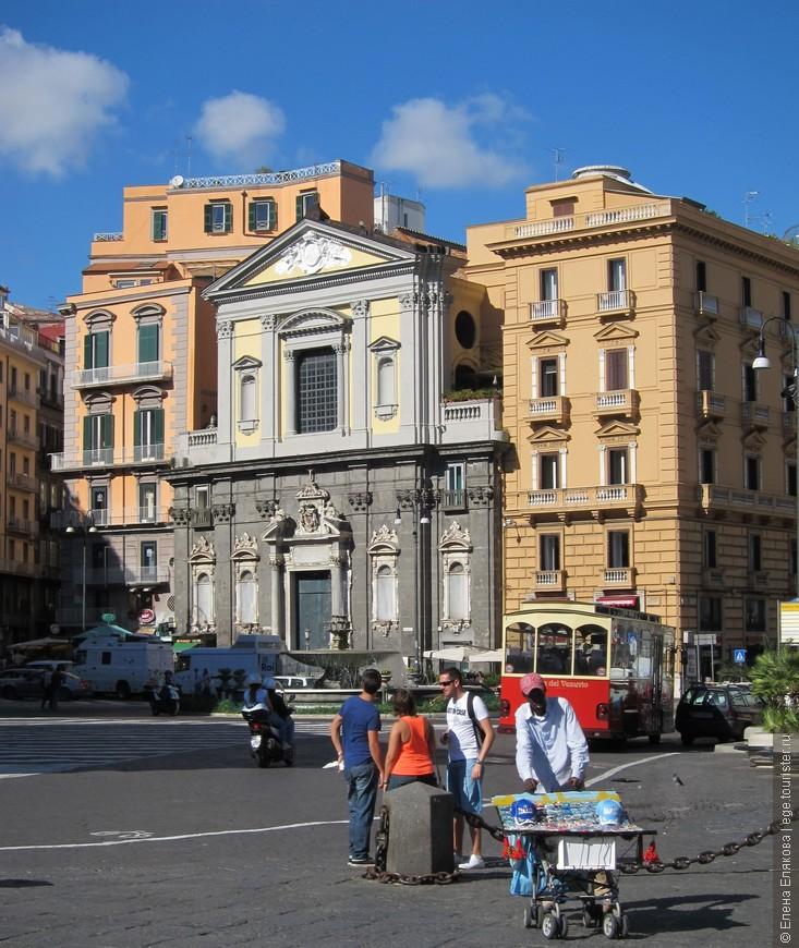 Площадь Trieste e Trento