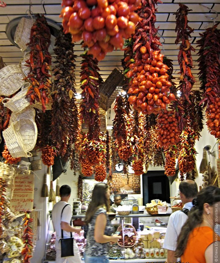 Типичный магазинчик в Неаполе