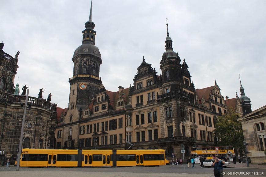 Сторожевая башня, Дрезденский замок.