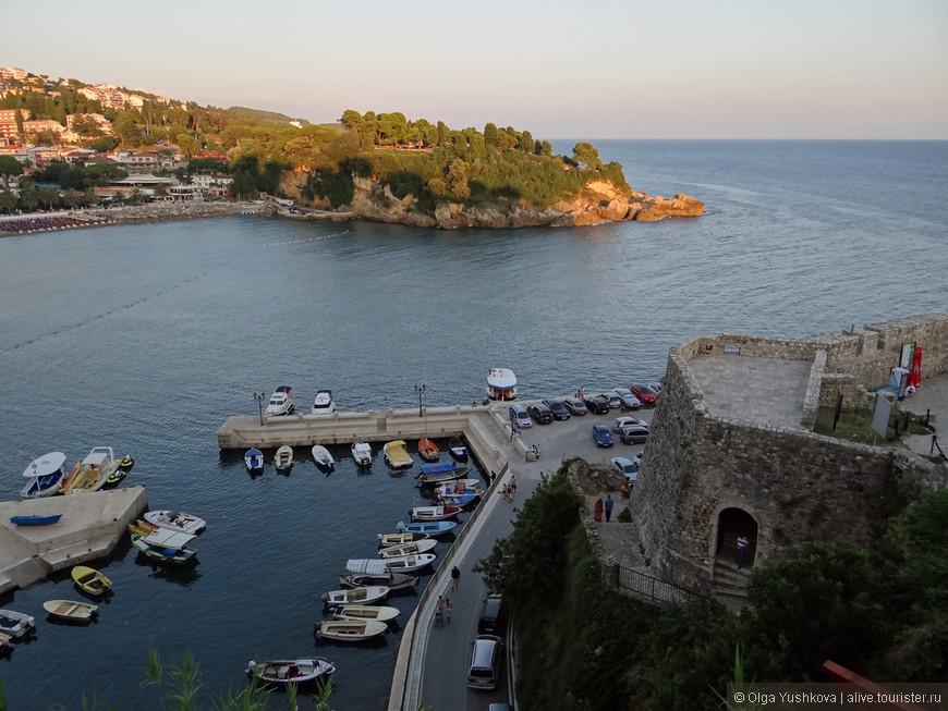 Вид с высоты крепости Старого города...