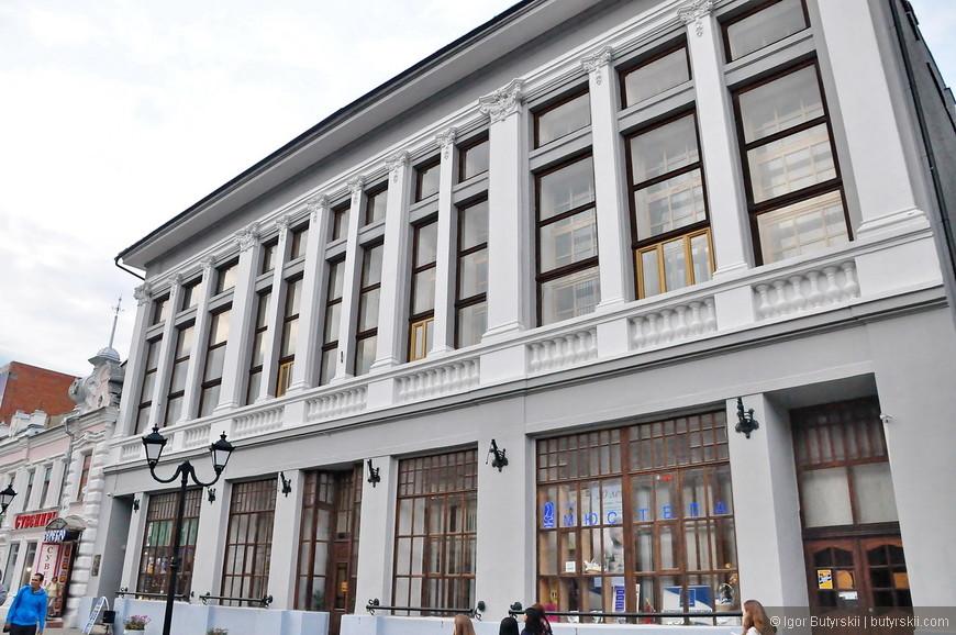 20. Представлены здания в разных стилях, кроме Дома печати образуют одну концепцию.