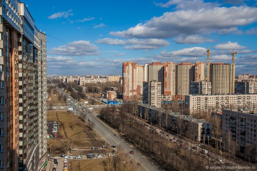 Проспект Космонавтов.
