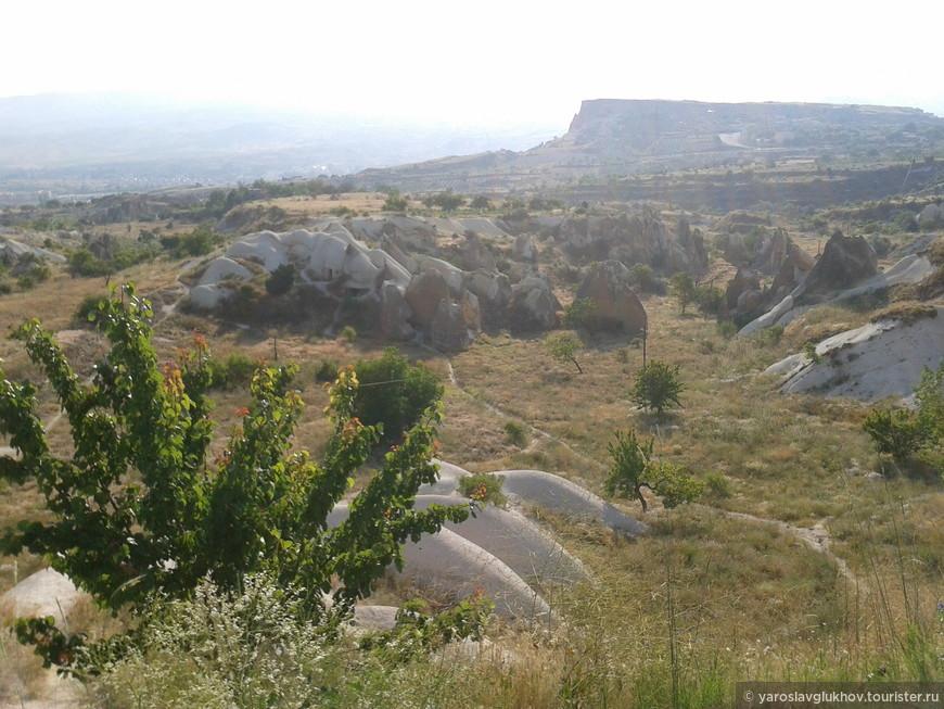 Пейзаж Каппадокии.
