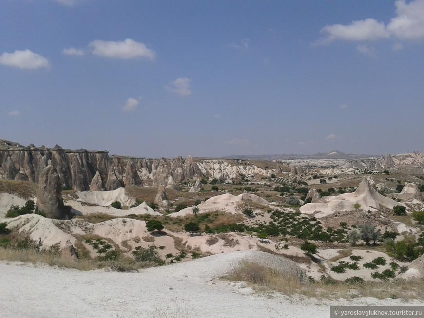 Пейзажи Каппадокии.