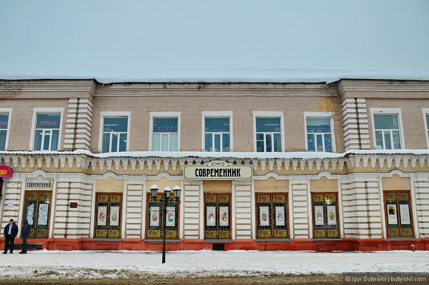 13. Где-то снести лишние надстройки, и город сможет принять много гостей из Ульяновска, где такой архитектуры уже не осталось.
