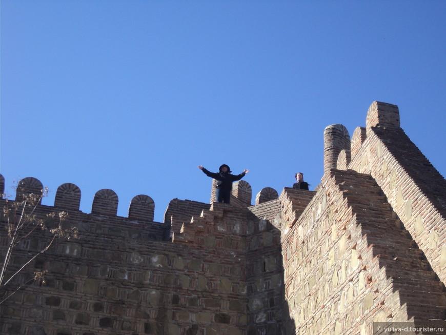 На стенах крепости Нарикала
