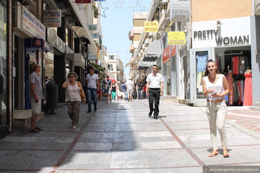 Пешеходная улица Дедало.