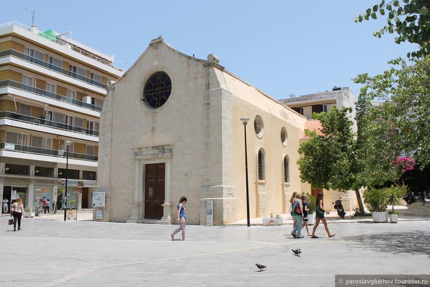 Церковь Святой Екатерины.