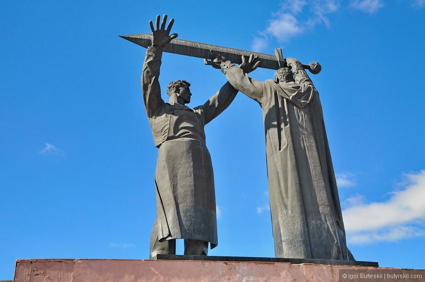 18. Монумент нуждается в небольшой чистке, но содержится в довольно хорошем состоянии.