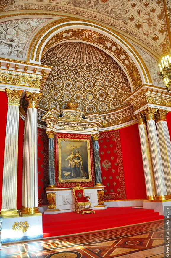 09. Императорский трон.