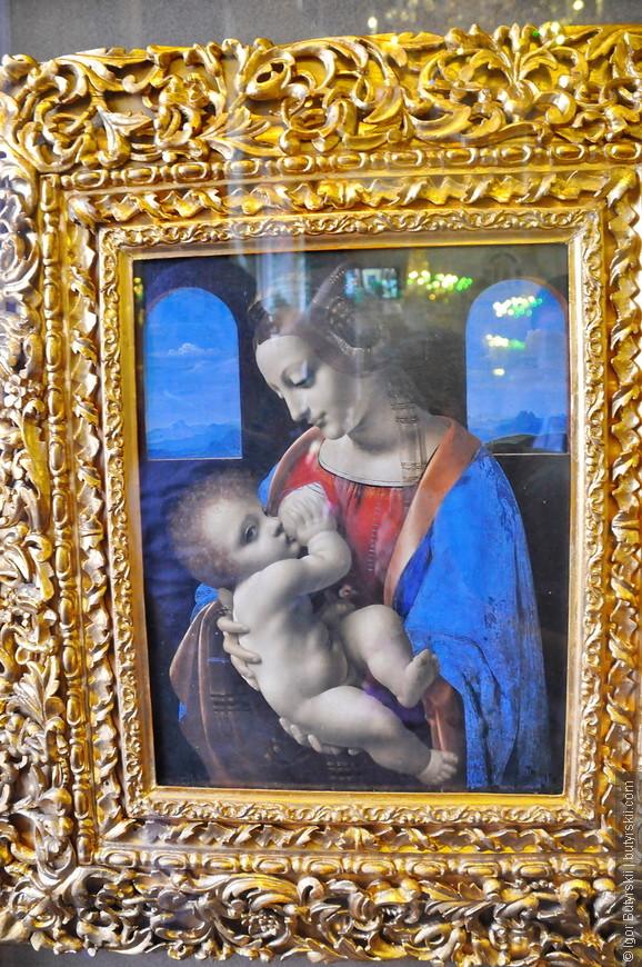 31. Леонардо да Винчи – Мадонна Литта.