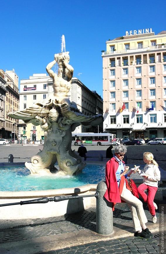 Рим-город многочисленных фонтанчиков