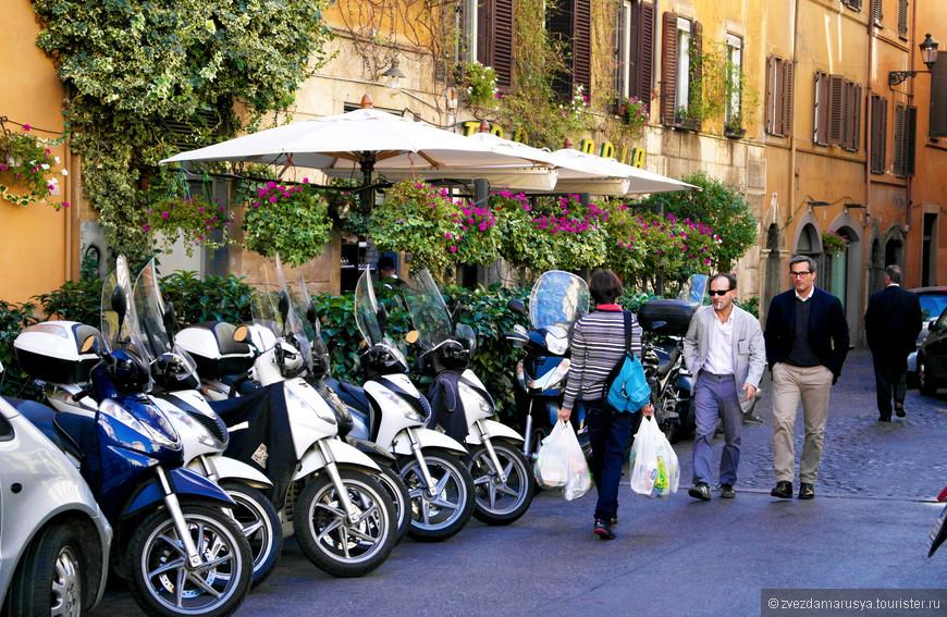 Идеально-правильная итальянская улица.