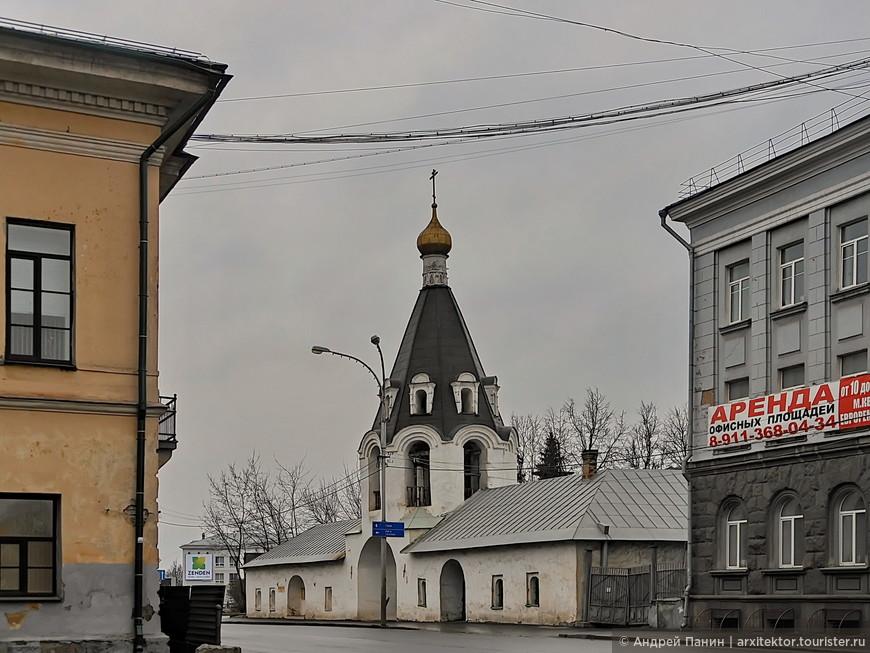 Церковь Михаила Архангела с Городца. XV век.