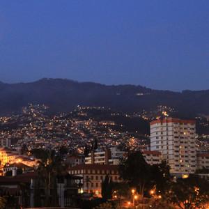 Фуншал - маленькая столица Мадейры.