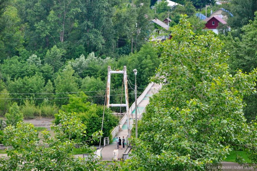 03. Пугающий мост через реку, царство бетона.