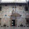 фрески на торцовых стенах парадного зала виллы Медичи, экскурсии по Флоренции и Тоскане с частным индивидуальным гидом на русском языке