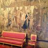 шпалеры в обеденном зале виллы, экскурсии по Флоренции и Тоскане с частным индивидуальным гидом на русском языке