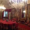 Тоскана, вилла Медичи Ла Петрайя, обеденный зал в полном параде! экскурсии по Флоренции и Тоскане с частным индивидуальным гидом на русском языке