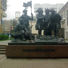Памятник основателям крепости св. Димитрия Ростовского