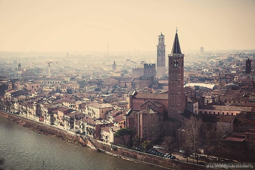 Жилой квартал в центре Вероны
