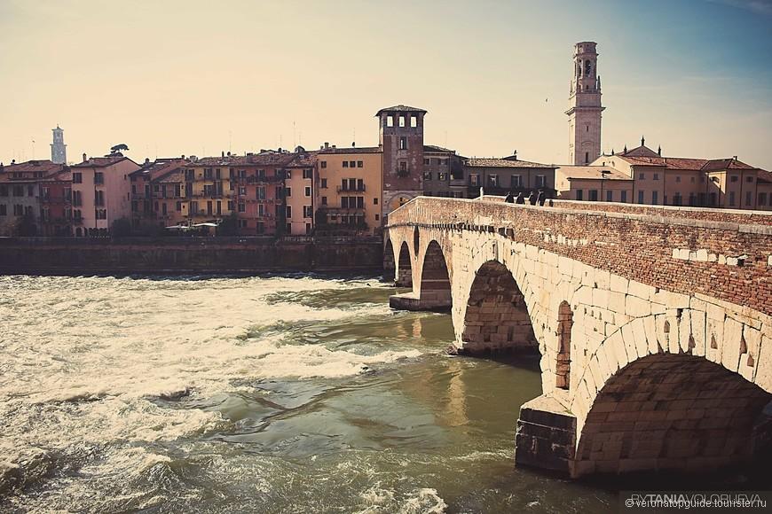 Самый древний мост города, PONTE VECCHIO