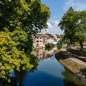 Начало осени  в Страсбурге