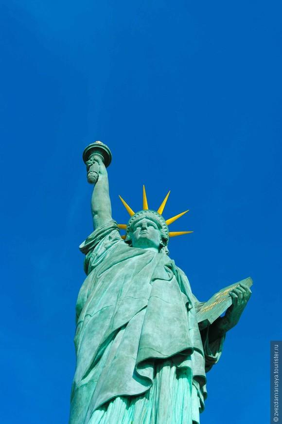 А вы знали, что именно Франция одарила США этим символом Америки?))