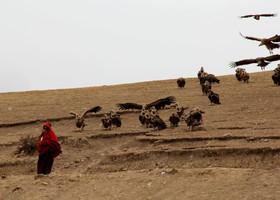 Тибетский обряд небесных похорон