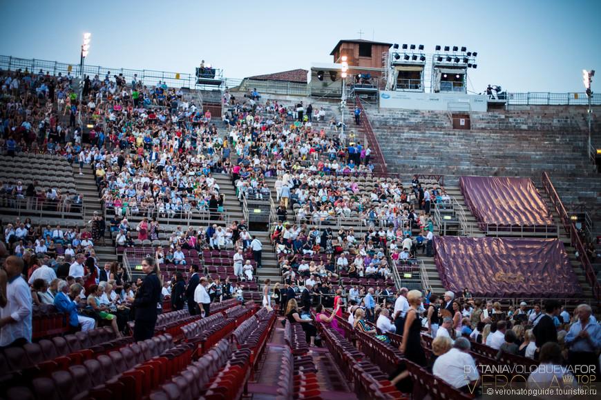 Опера в Вероне, Арена