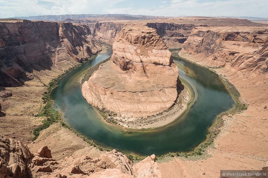 Мелочь, а приятно: мост Навахо и Подкова на удачу от реки Колорадо