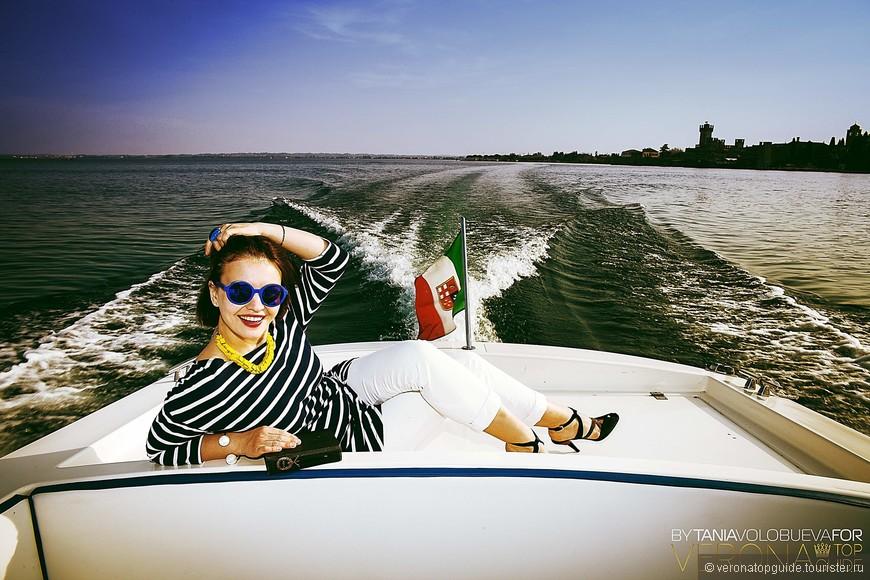 Гёте любил озеро Гарда и в  дневнике о своём путешествии в Италию детально описывает все его красоты