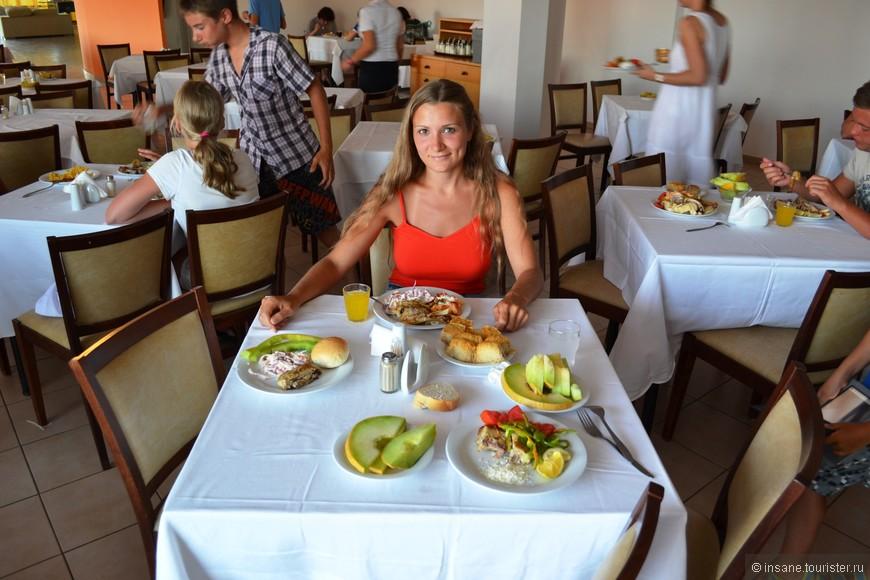 """Очень вкусное и разнообразное питание в отеле """"Nicolas Village"""""""