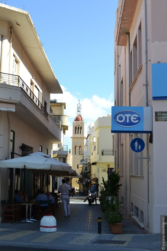 Улочки в городе Ретимно