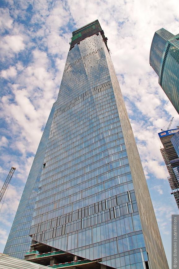 23. Южная башня комплекса «ОКО» станет самым высоким зданием в Москве и Европе пока не будет достроено здание «Восток» в комплексе «Федерация».