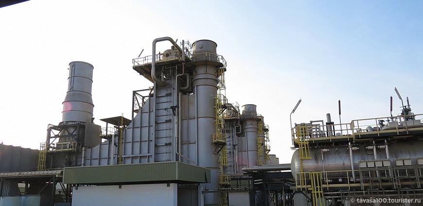 Завод опреснения вода