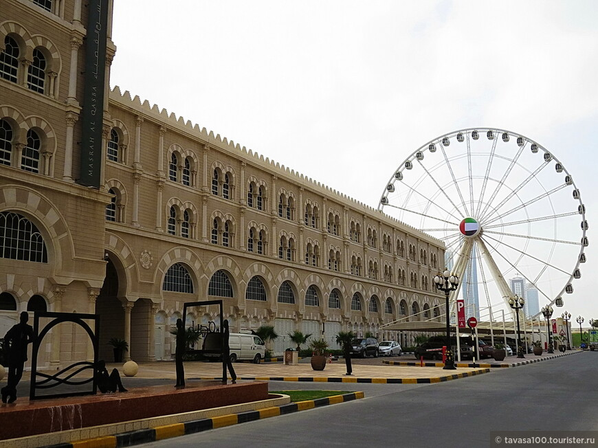 Вдоль канала Аль Касба