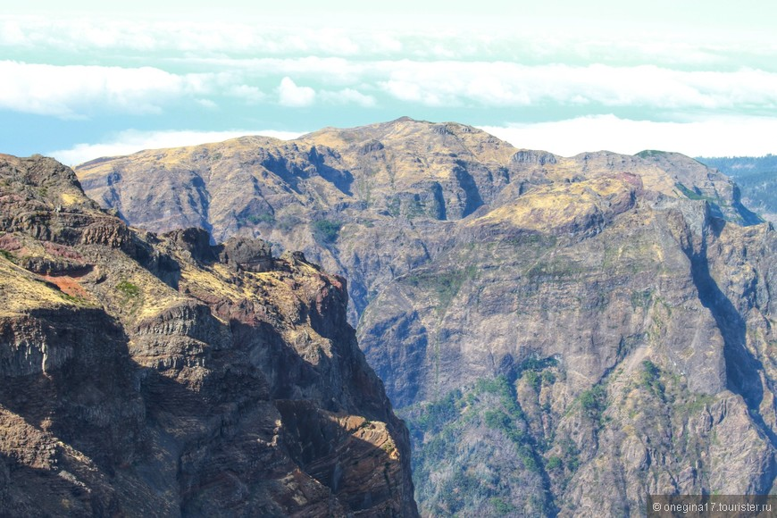 Мадейра - это горы.