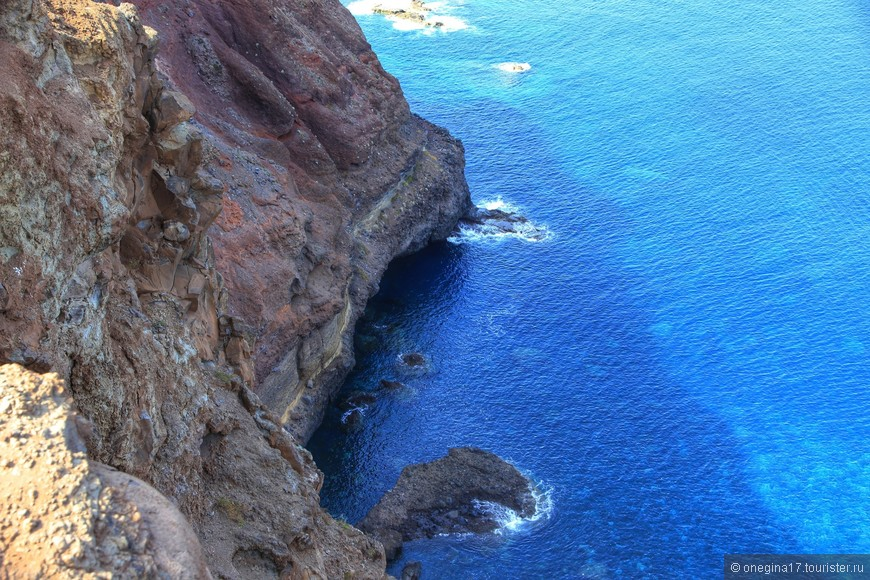 Океан на Мадейре везде чистейший!