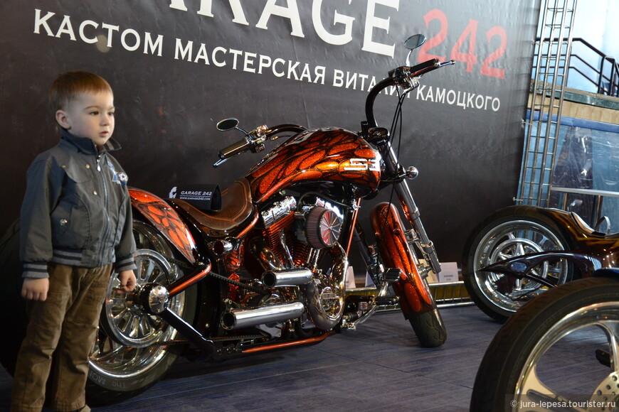 Мотоциклы, представленные на выставке, — 100% эксклюзив